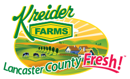 Kreider Farms Milk and Dairy Products Now at Giant Food Stores in