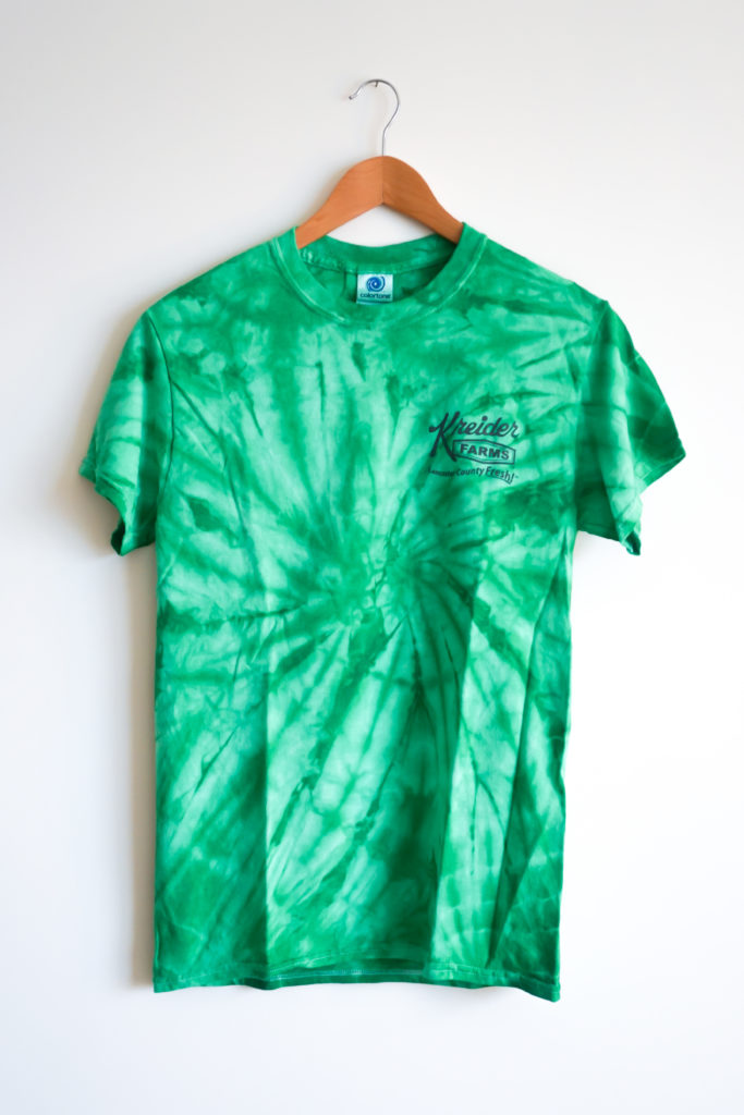 Adult Tie Dye Front