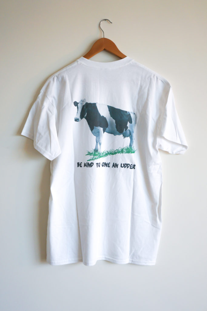 Be Kind to One an Udder Shirt Back
