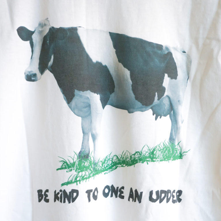 Be Kind to One an Udder Shirt Back Detail