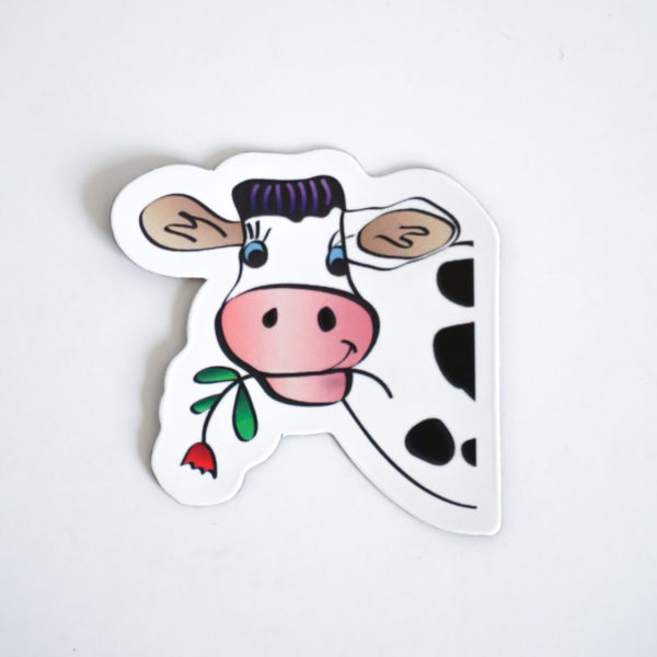 Cow Magnets Single