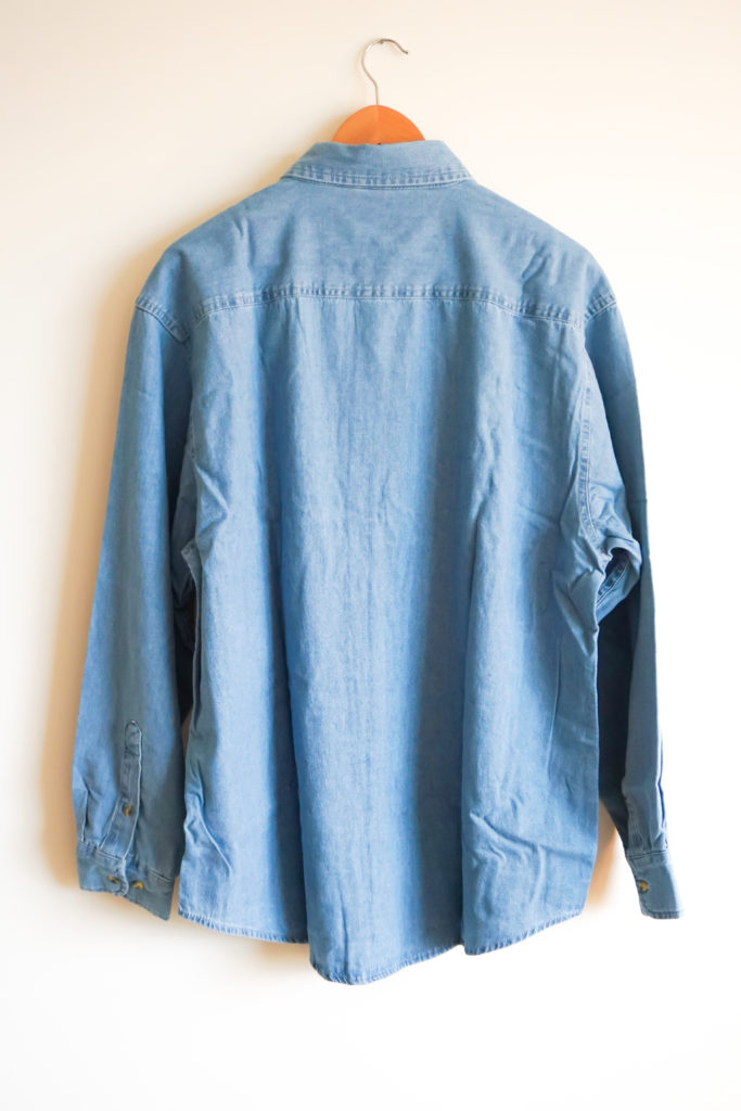 Denim Shirt Back