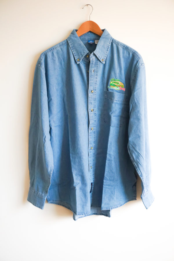 Denim Shirt Front