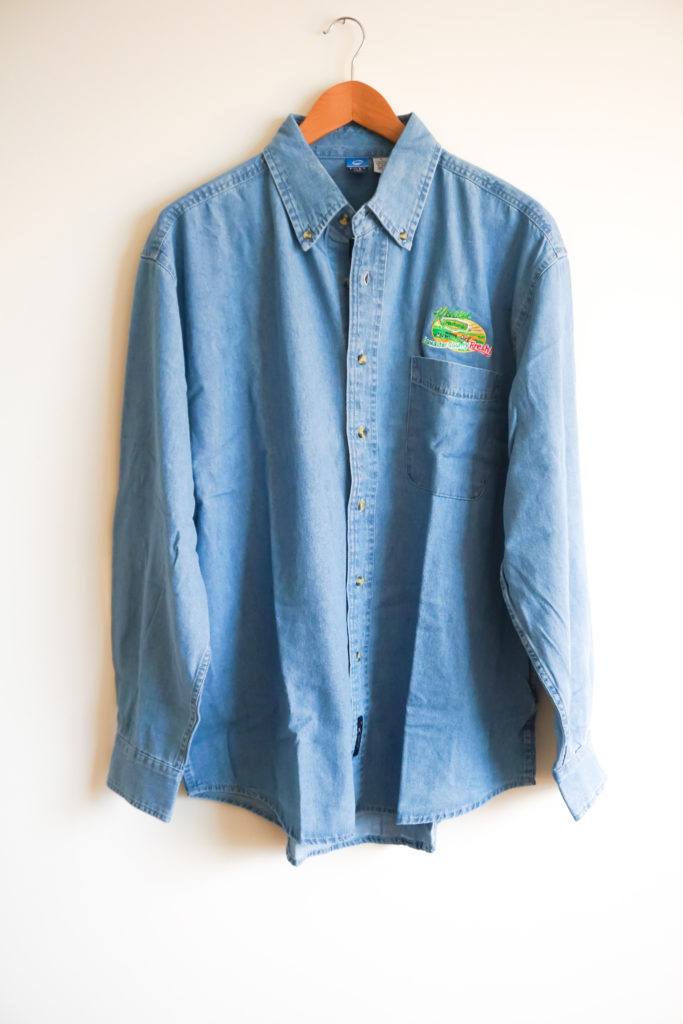 Denim Shirt Front