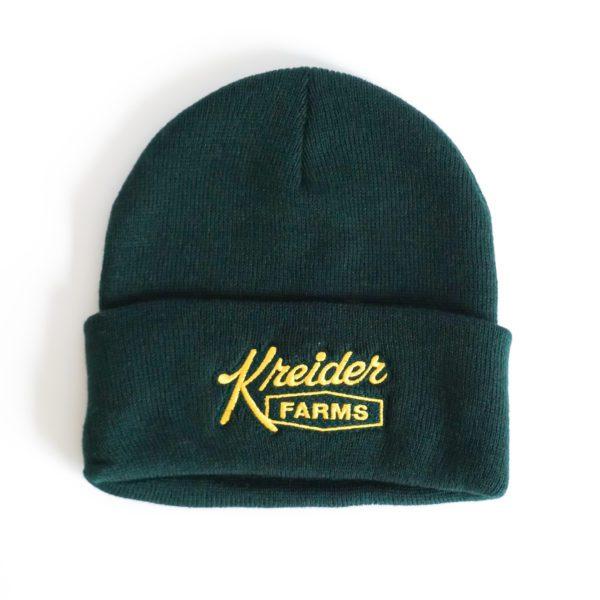 KF Green Beanie