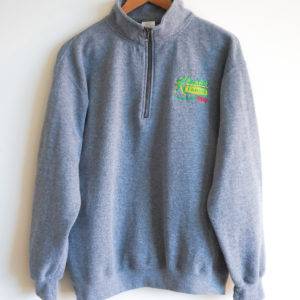 Quarter Zip Sweatshirt Front