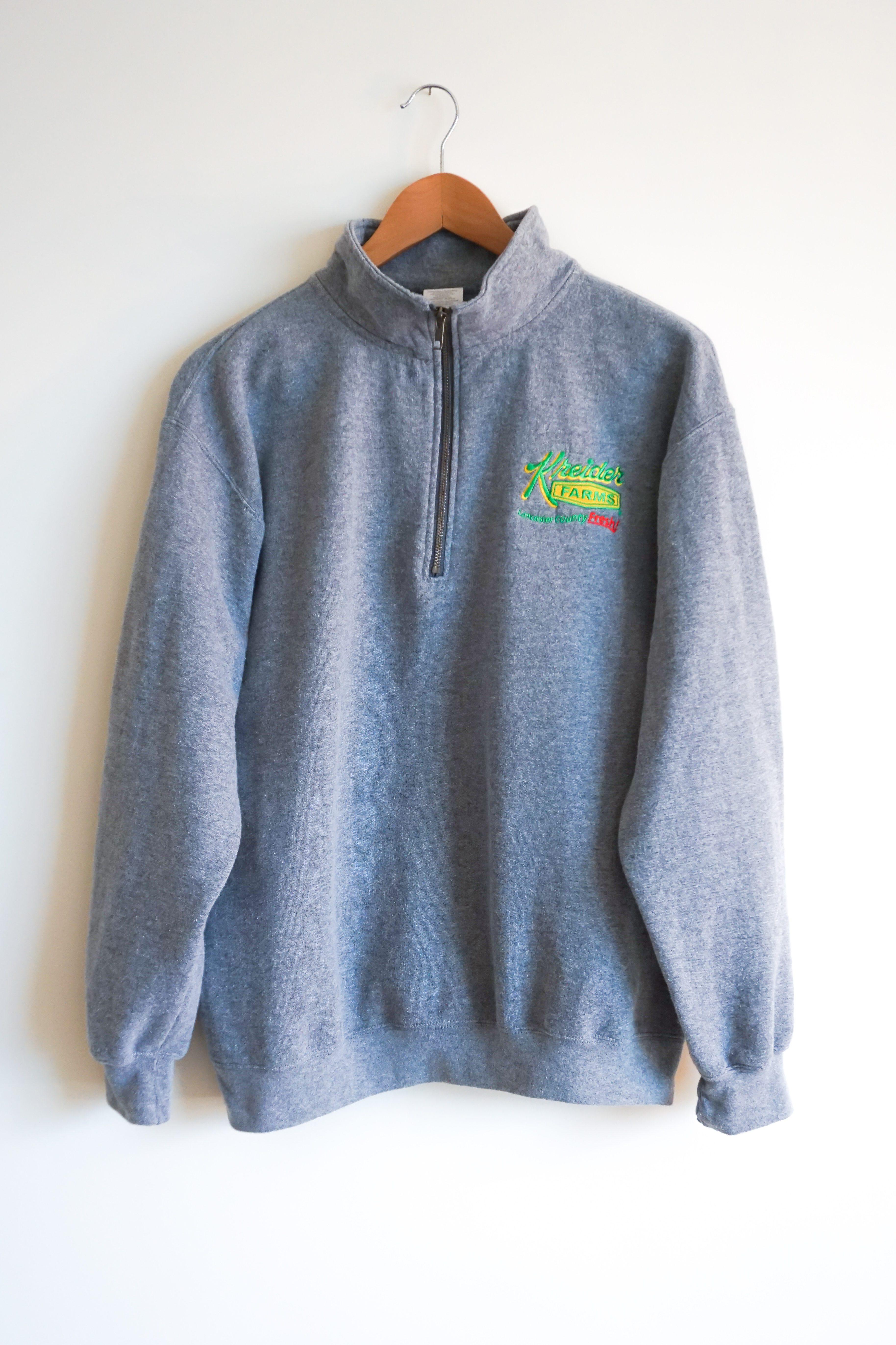 Quarter Zip Sweatshirt Front
