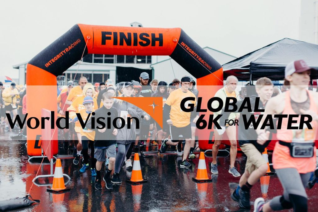 World Vision Global 6K for Water race