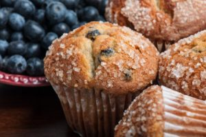 kreider farms blueberry muffins