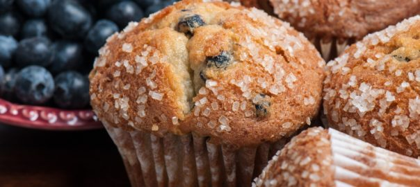 kreider farms blueberry muffins